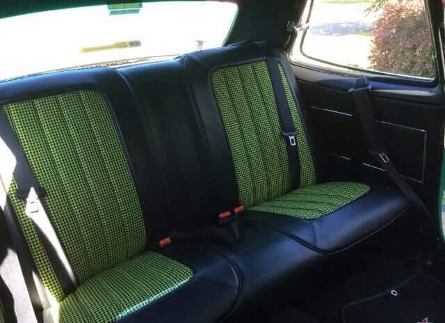Robbos Custom Upholstery gallery of restored car seat upholstery, Nambour